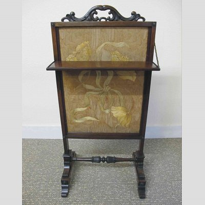 ROSEWOOD FIRE SCREEN